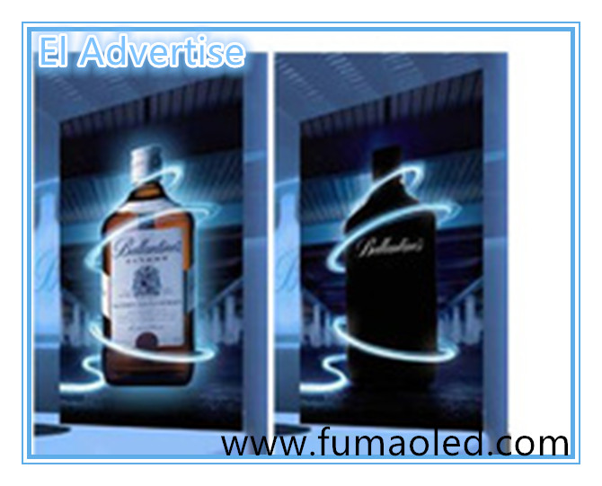 El Glowing Advertisement